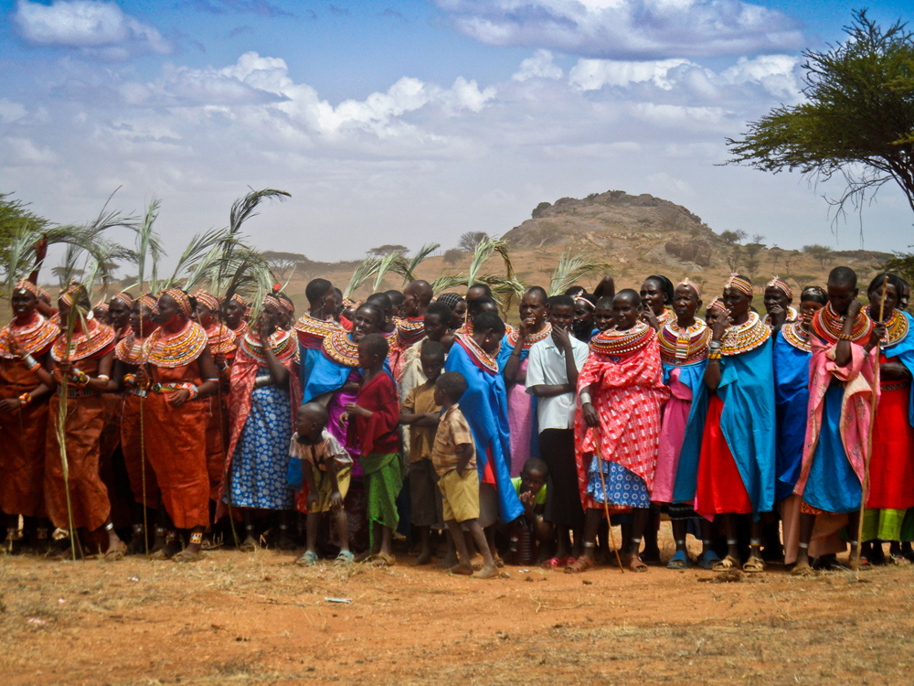 Samburu Women, Kenya, Lottie Gross