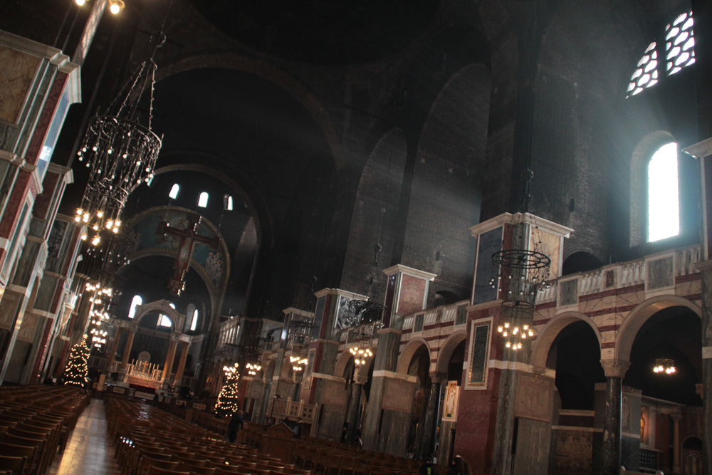 Westminster Cathedral interior, London